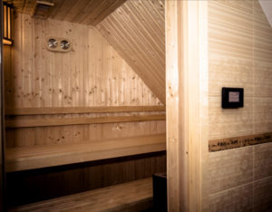 sauna pensjonat nad zalewem konin